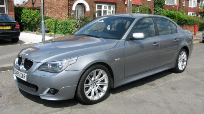 BMW 5 Series 520d 2005 Technical Specifications