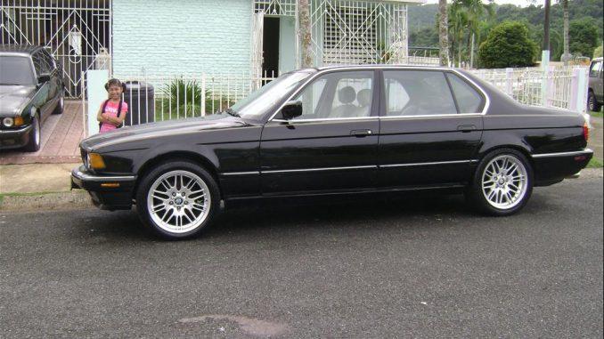 BMW 7 Series 750i 1990