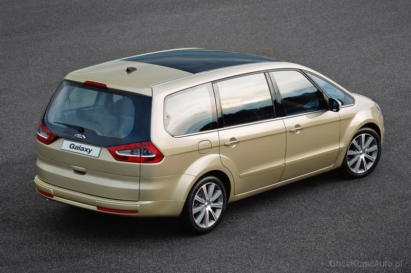 ford galaxy 1 8 2009 technical specifications interior. Black Bedroom Furniture Sets. Home Design Ideas