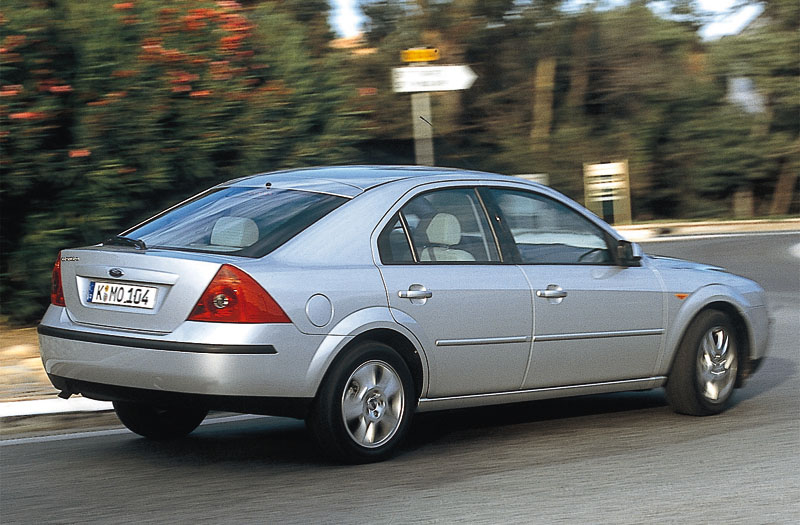 Ford Mondeo 2 0 2000 Technical Specifications