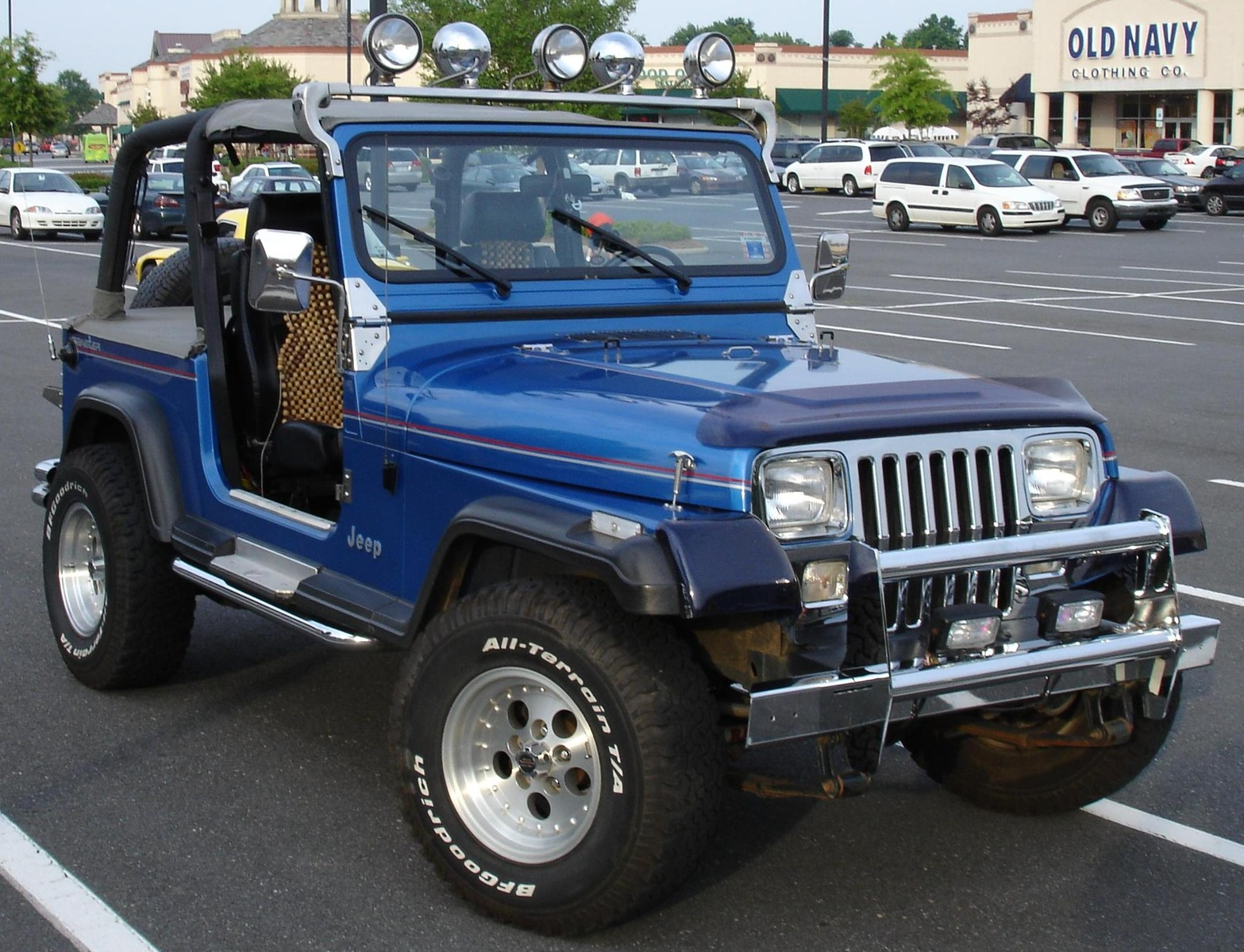 jeep wrangler 4 0 1992 technical specifications interior and exterior photo. Black Bedroom Furniture Sets. Home Design Ideas