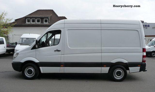 Mercedes benz sprinter 309 2012 technical specifications for Mercedes benz sprinter fuel economy