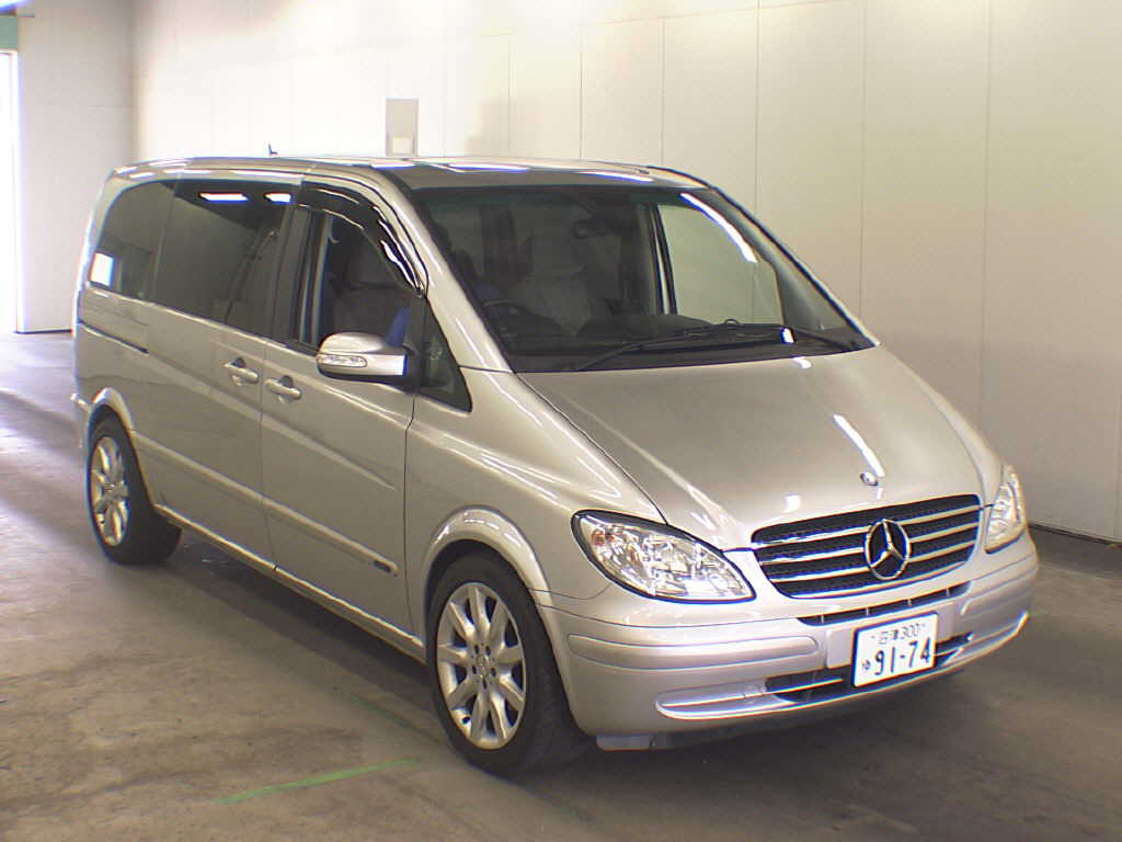 mercedes benz viano 3 2 2006 technical specifications interior and exterior photo. Black Bedroom Furniture Sets. Home Design Ideas