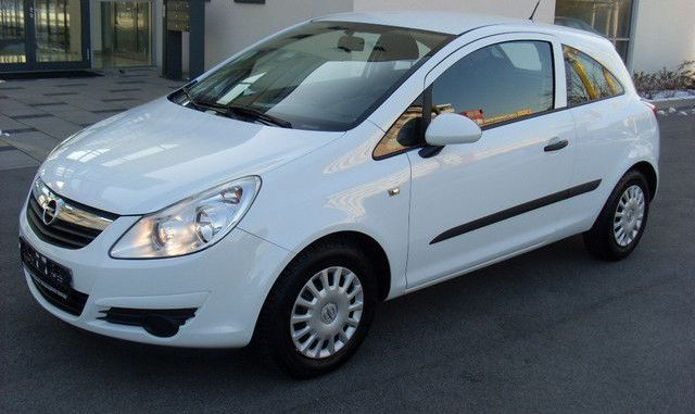 Opel Corsa 13 2007 Technical Specifications Interior And Exterior