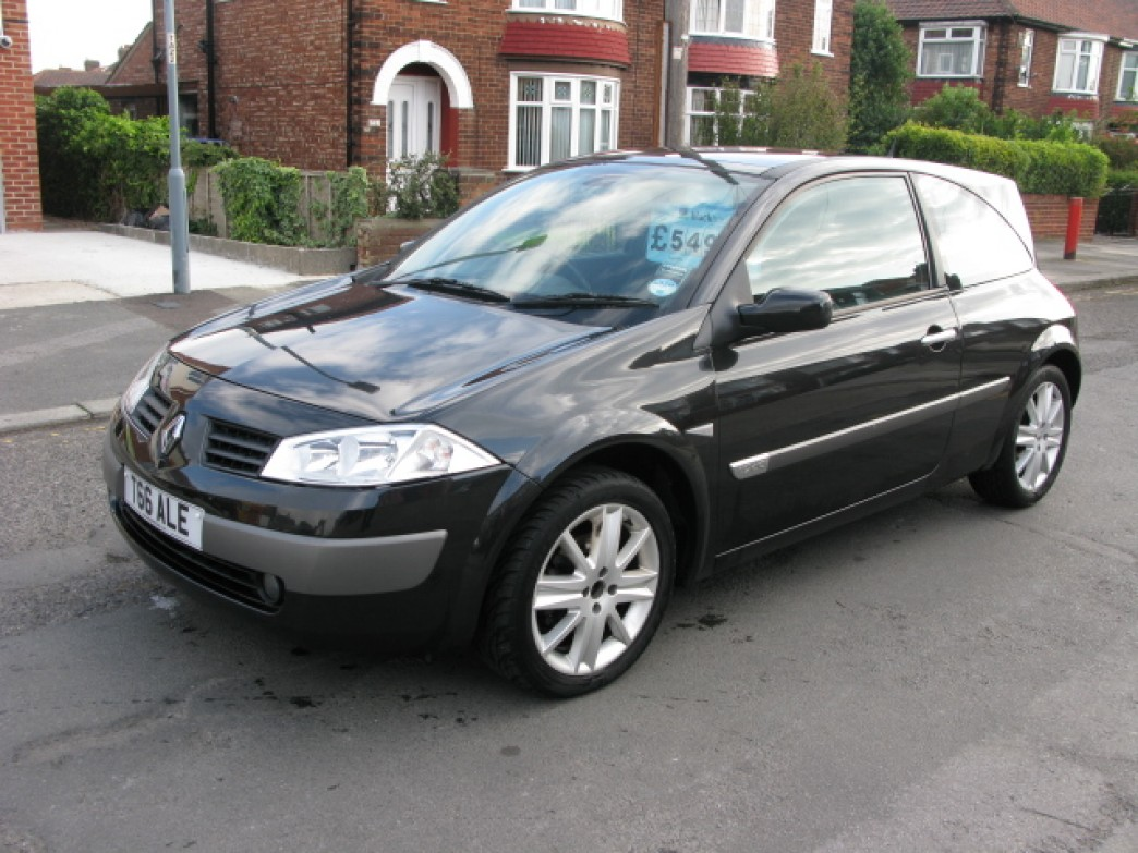 Renault Megane 1 9 2004 Technical Specifications