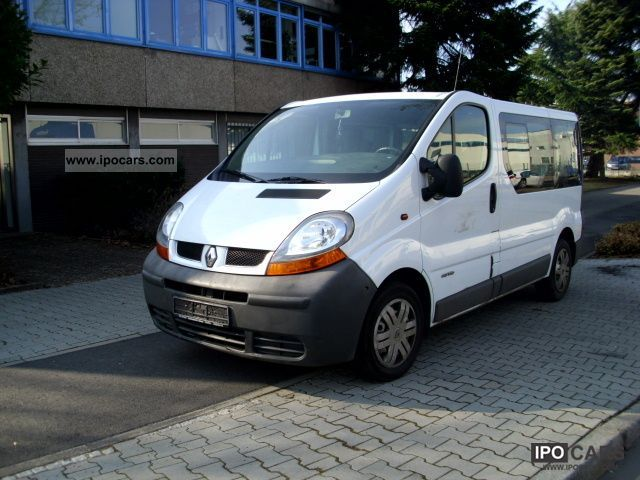 renault trafic 2 5 2003 technical specifications interior and exterior photo. Black Bedroom Furniture Sets. Home Design Ideas