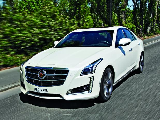 Cadillac CTS 2.0 2014 Technical specifications | Interior and ...
