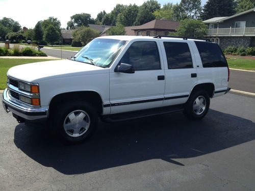 Chevrolet Tahoe 5 7 1998  U2013 Technical Specifications
