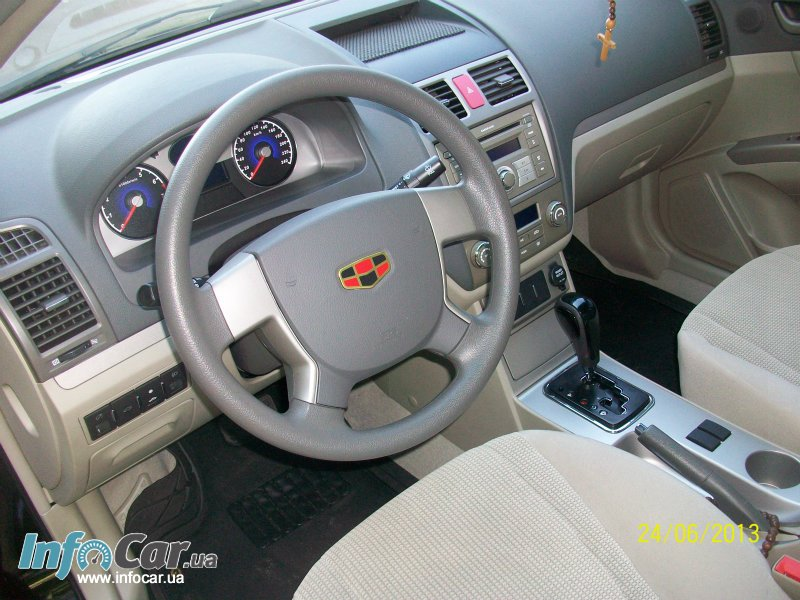 Geely Emgrand 1.8 2012 photo - 2