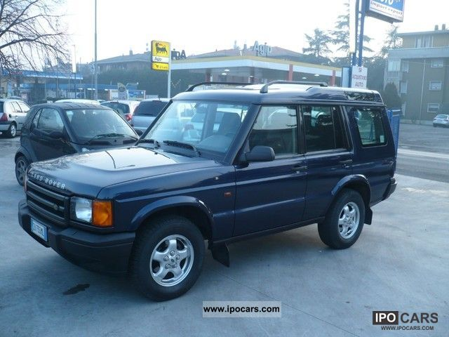 Land Rover Discovery 2.5 2002 photo - 1