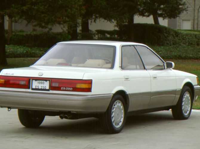 Lexus Es 250 1990 Technical Specifications Interior And