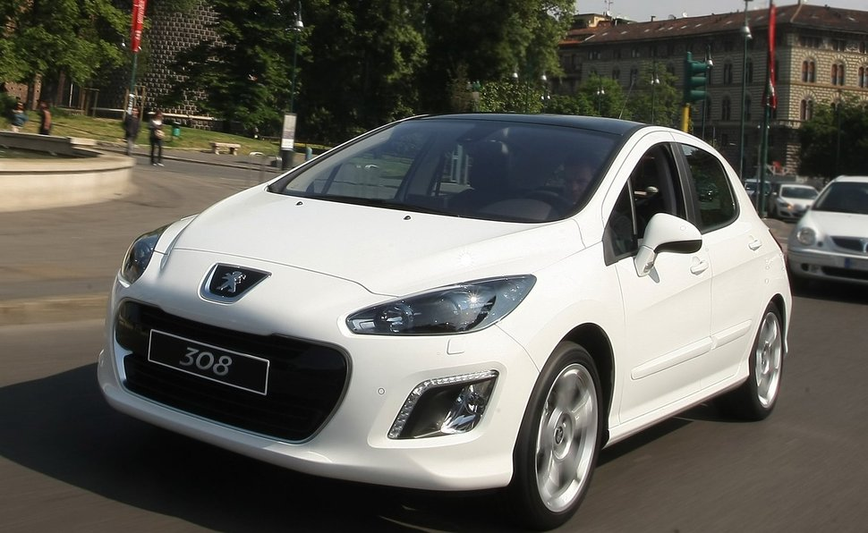 Peugeot 308 1.6 2011 - Technical specifications