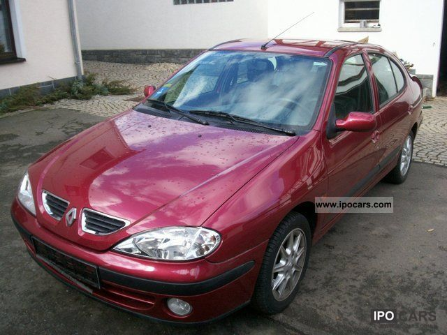 Acura Of Reno >> Renault Megane 1.4 2002 Technical specifications ...