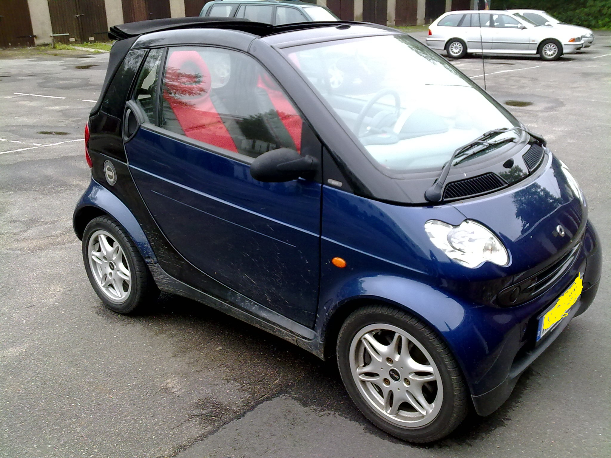 smart fortwo 0 6 2001 technical specifications interior. Black Bedroom Furniture Sets. Home Design Ideas