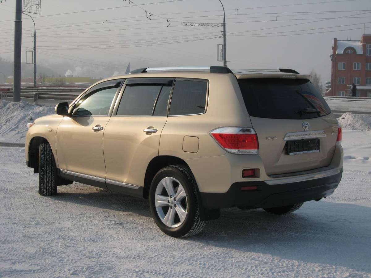 Toyota Highlander 35 2010 Technical Specifications Interior And 1997 Celica Wiring Diagram Photo 1