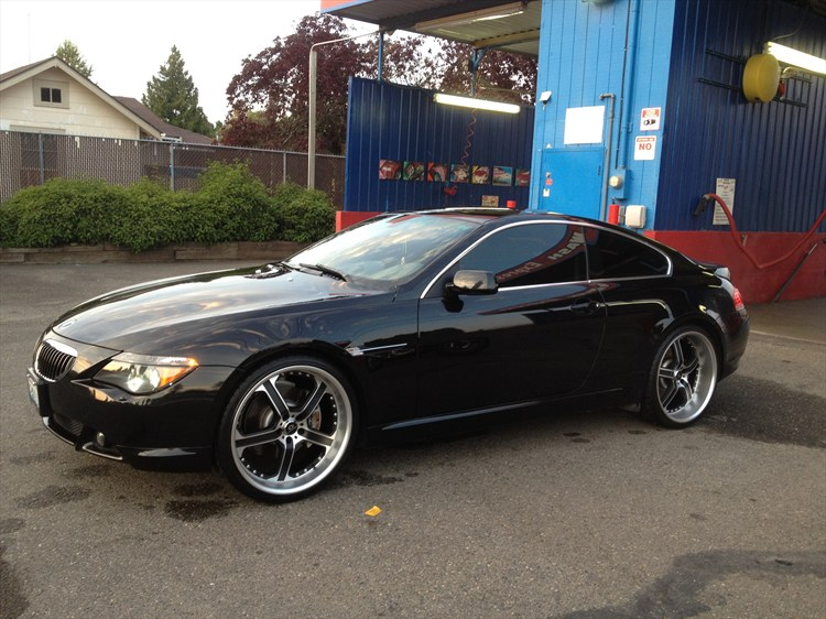 bmw 6 series 645ci 2005 technical specifications