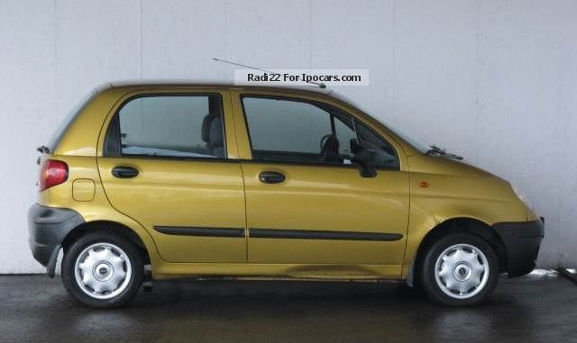 Daewoo Matiz 0.8 2002 Technical specifications | Interior and ...