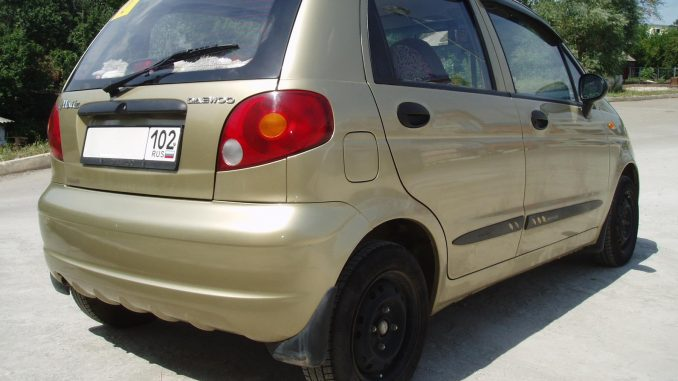 Daewoo Matiz 0.8 2007 Technical specifications | Interior and ...