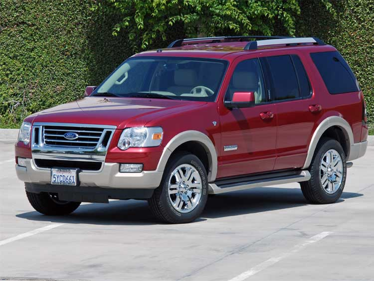 ford explorer 4 6 2007 technical specifications interior. Black Bedroom Furniture Sets. Home Design Ideas