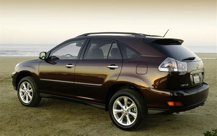 Lexus Rx 350 2008 Technical Specifications Interior And Exterior Photo