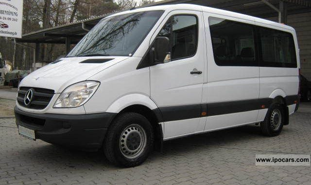 4b7351ef4b Mercedes-Benz Sprinter 210 2007 Technical specifications