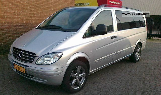 MercedesBenz Vito 111 2004 Technical specifications  Interior