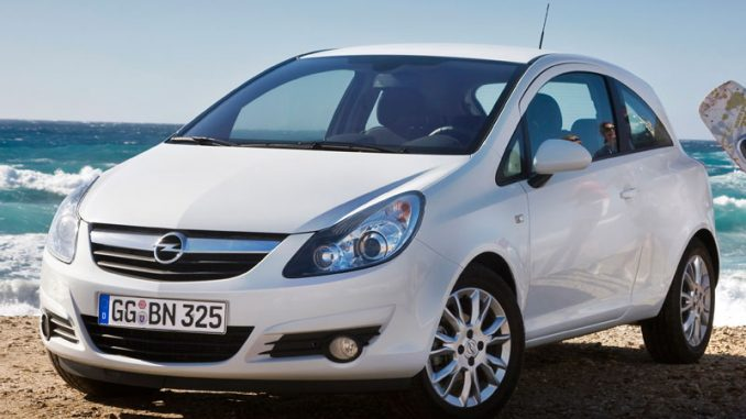 Opel corsa 1 3 2010 technical specifications interior for Opel corsa 2010 interior