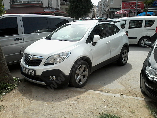 opel mokka 1 4 2012 technical specifications interior. Black Bedroom Furniture Sets. Home Design Ideas