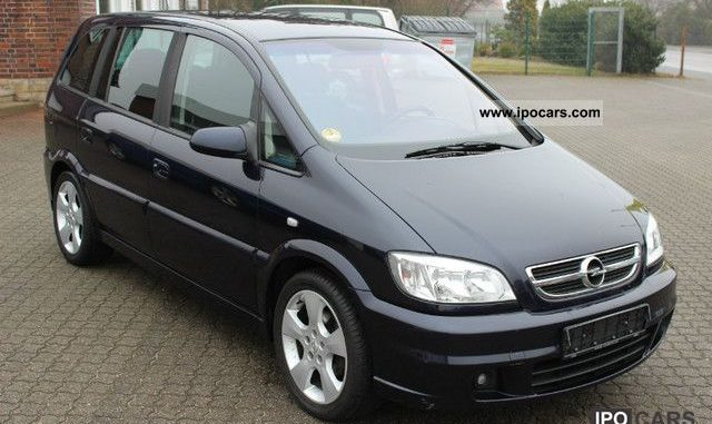 opel zafira 2 2 2003 technical specifications interior and exterior photo. Black Bedroom Furniture Sets. Home Design Ideas