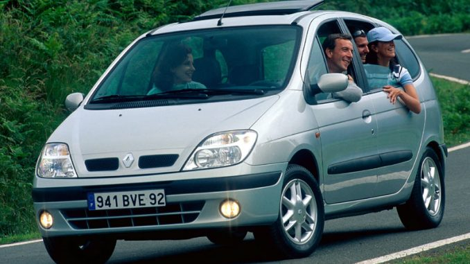 Renault Scenic 1 9 2001 Technical specifications | Interior and