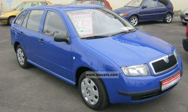 Skoda Fabia 1 2 2003 Technical Specifications Interior And