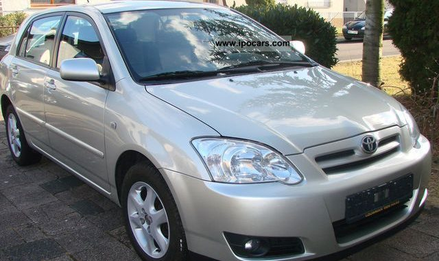 toyota corolla 1 4 2006 technical specifications interior and exterior photo. Black Bedroom Furniture Sets. Home Design Ideas
