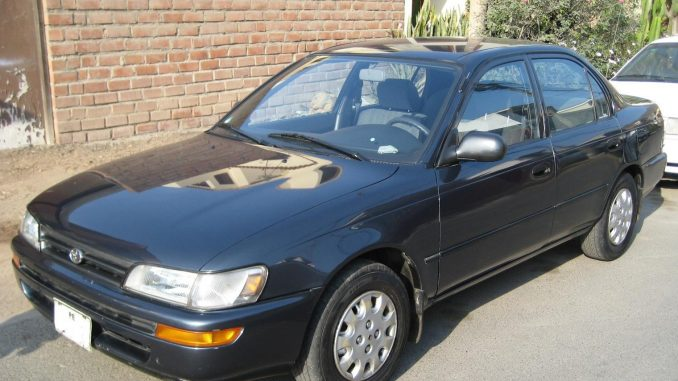 toyota corolla 1 8 1993 technical specifications interior and exterior photo. Black Bedroom Furniture Sets. Home Design Ideas