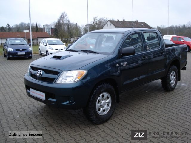 toyota hilux 2 5 2007 technical specifications interior. Black Bedroom Furniture Sets. Home Design Ideas
