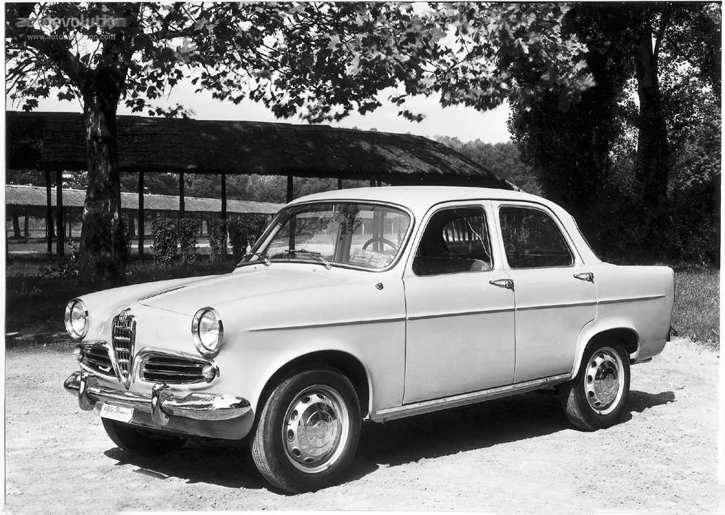 Alfa Romeo Giulietta 1.3 1955 photo - 10
