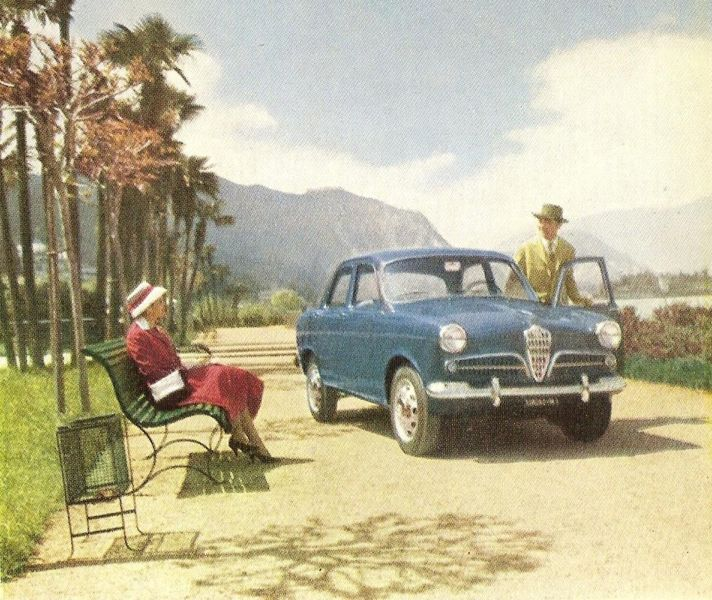 Alfa Romeo Giulietta 1.3 1955 photo - 11