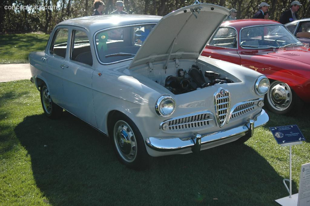 Alfa Romeo Giulietta 1.3 1955 photo - 9