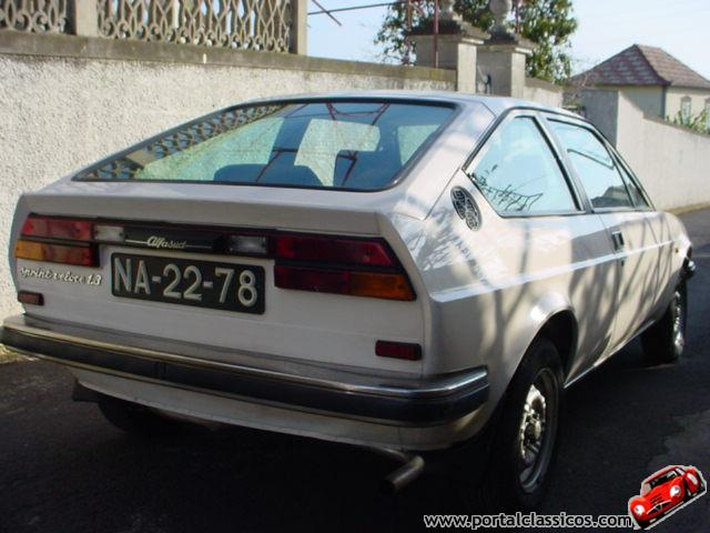 Alfa Romeo Giulietta 1.3 1982 photo - 11