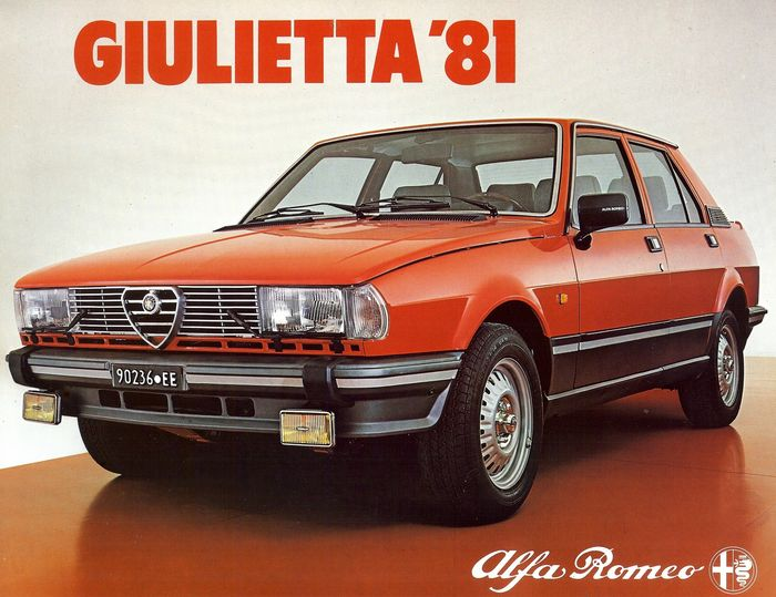 Alfa Romeo Giulietta 1.3 1982 photo - 5