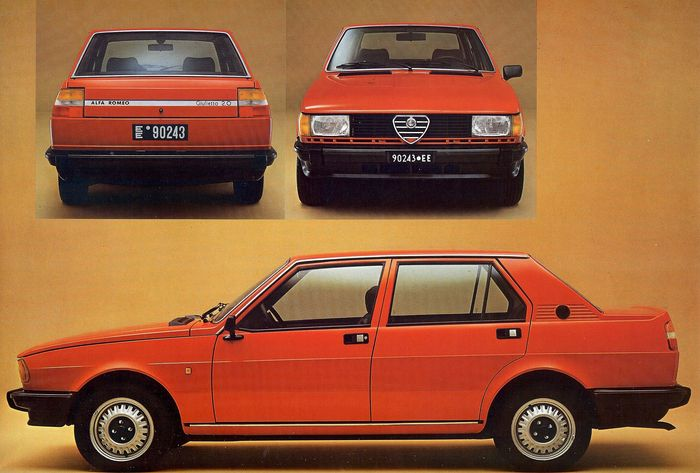 Alfa Romeo Giulietta 1.3 1982 photo - 7