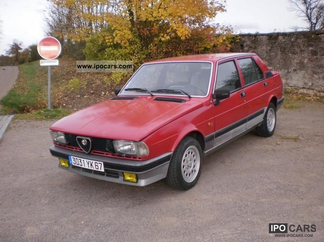 Alfa Romeo Giulietta 2.0 1984 photo - 3