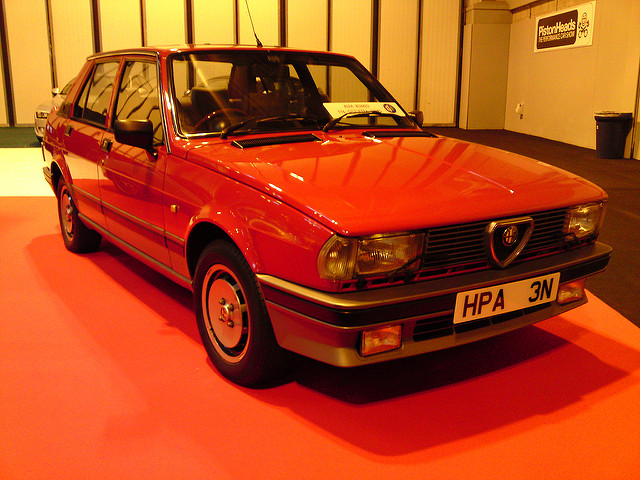 Alfa Romeo Giulietta 2.0 1984 photo - 8