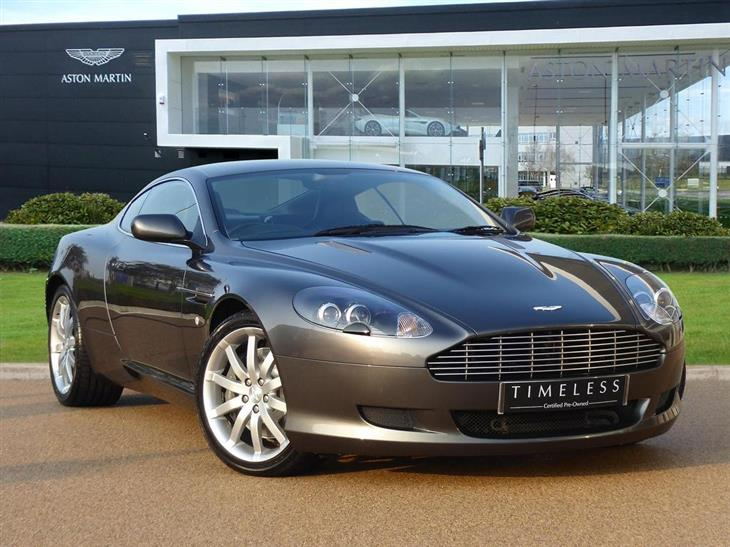 Aston Martin DB9 5.9 2007 photo - 12