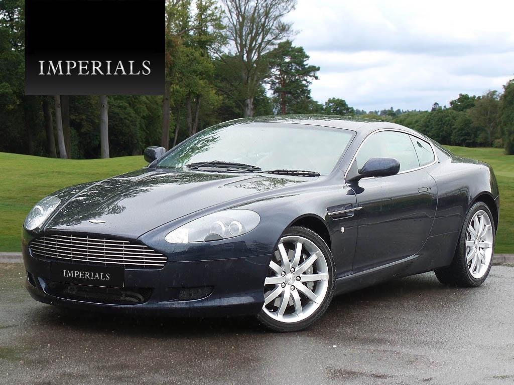 Aston Martin DB9 5.9 2007 photo - 2
