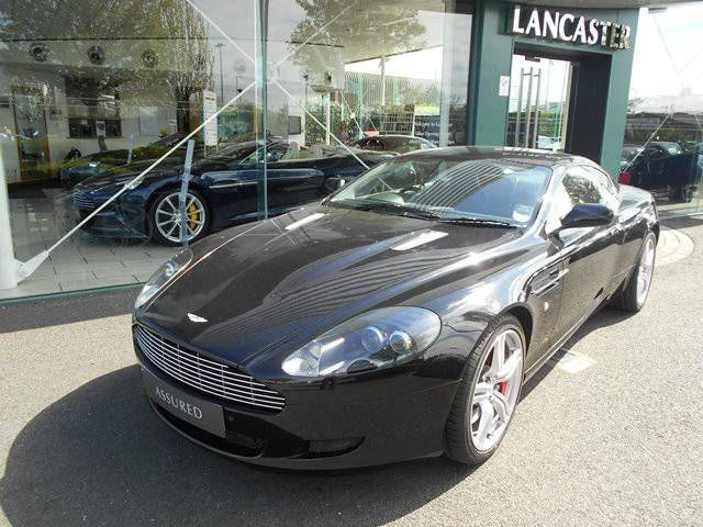 Aston Martin DB9 5.9 2008 photo - 1