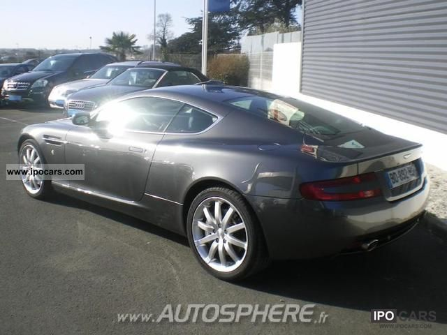 Aston Martin DB9 5.9 2008 photo - 3