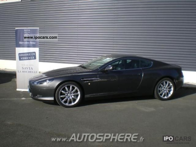 Aston Martin DB9 5.9 2008 photo - 4