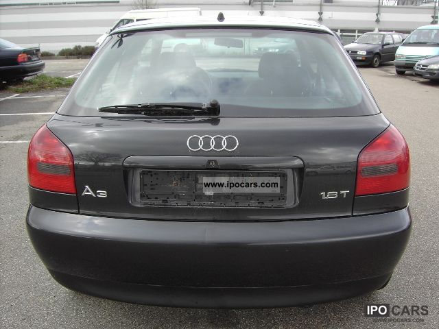 audi a3 1 8t 1999 technical specifications interior and exterior photo. Black Bedroom Furniture Sets. Home Design Ideas