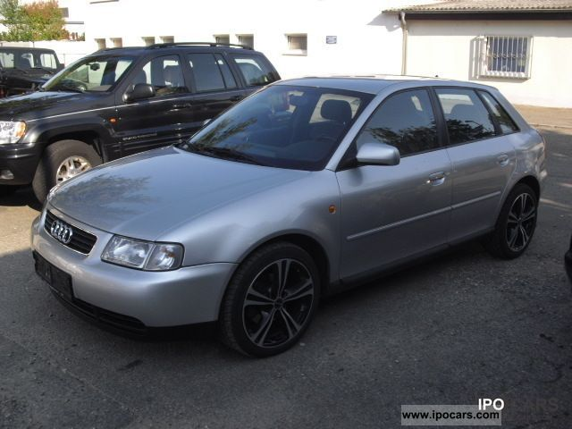 Audi A3 1.9 2000 - Technical specifications
