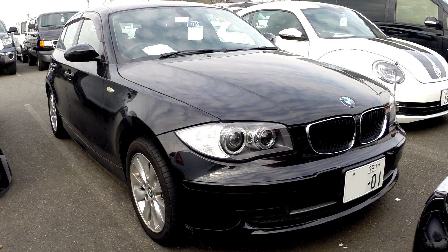 bmw 1 series 116i 2008 technical specifications interior and exterior photo. Black Bedroom Furniture Sets. Home Design Ideas